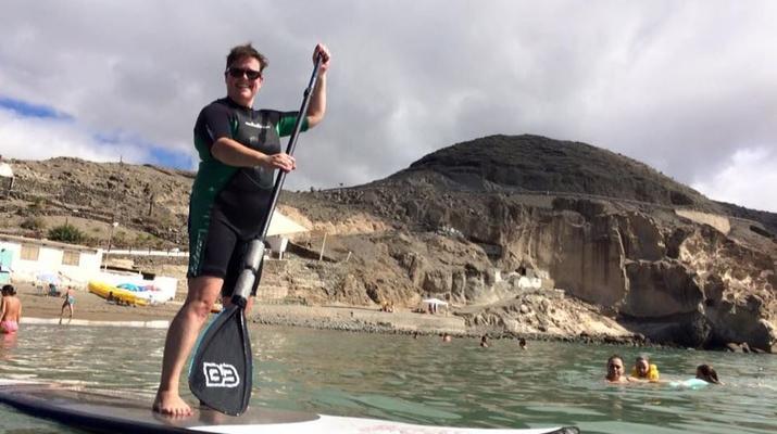 Stand up Paddle-Maspalomas, Gran Canaria-Paddle Surf and Snorkel excursion from Maspalomas, Gran Canaria-5