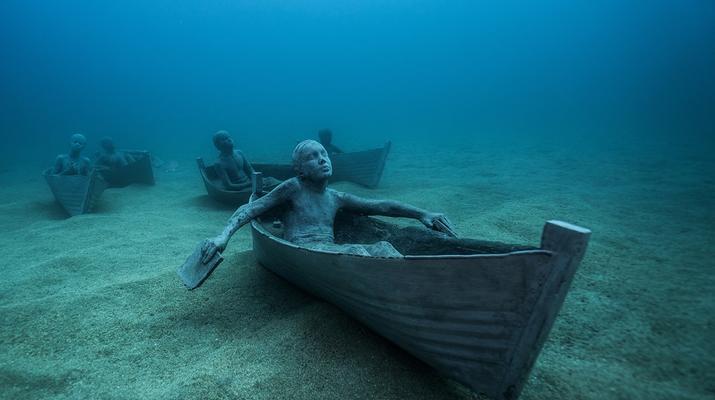 Scuba Diving-Puerto del Carmen, Lanzarote-First dive in the Underwater Museum of Lanzarote-3