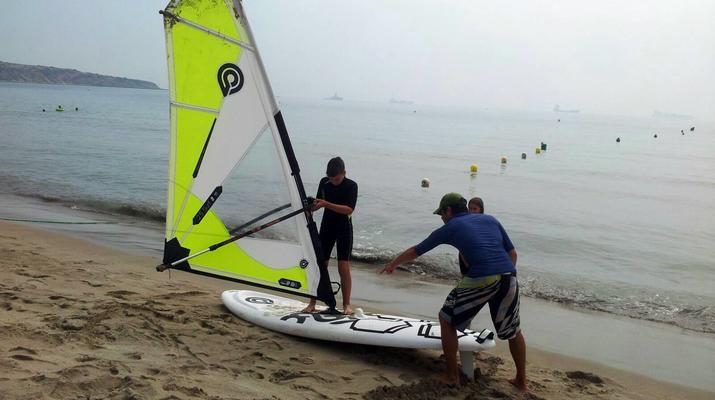 Windsurfing-Tarifa-Windsurfing course for beginners in Tarifa-3