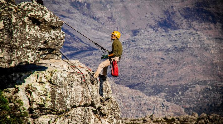 Abseiling-Cape Town-Abseiling down Table Mountain-5