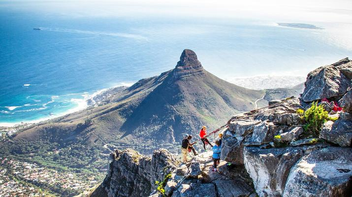 Abseiling-Cape Town-Abseiling down Table Mountain-2