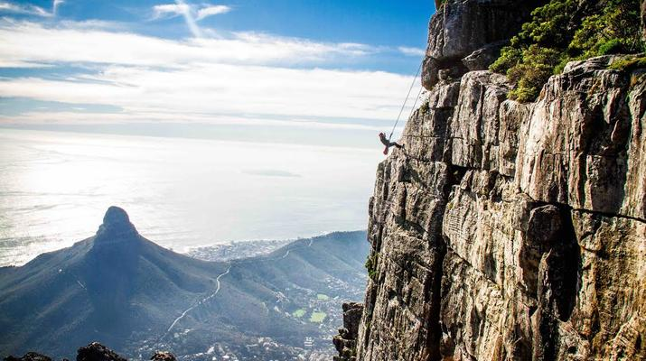 Abseiling-Cape Town-Abseiling down Table Mountain-10