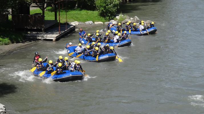 Rafting-La Plagne, Paradiski-Descente en rafting sur l'Isère à La Plagne-2