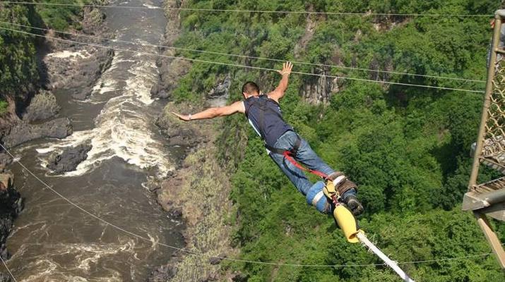 Saut à l'élastique-Victoria Falls-Bungee du pont des chutes Victoria-4