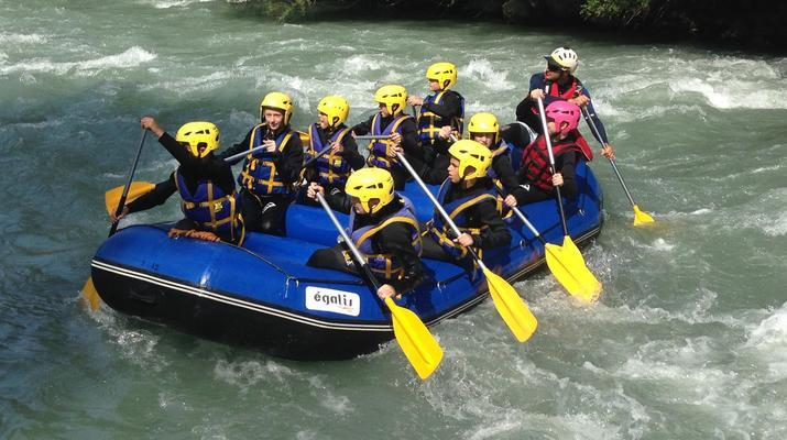 Rafting-La Plagne, Paradiski-Descente en rafting sur l'Isère à La Plagne-5