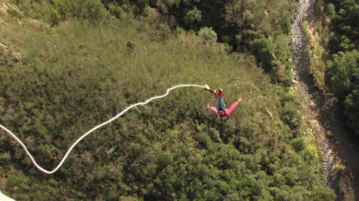 Bungee Jumping-Plettenberg Bay-World's highest bridge bungy, 216m from Bloukrans Bridge-4