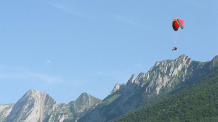 Parapente-Pyrénées Atlantiques-Vol en parapente biplace à Accous, Pyrénées Atlantiques-2