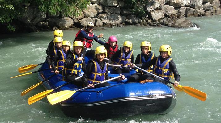 Rafting-La Plagne, Paradiski-Descente en rafting sur l'Isère à La Plagne-4