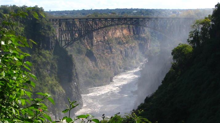 Saut à l'élastique-Victoria Falls-Bungee du pont des chutes Victoria-7