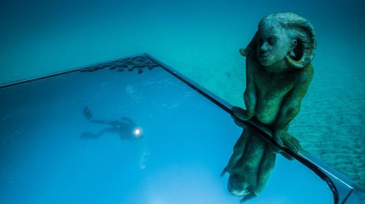 Scuba Diving-Puerto del Carmen, Lanzarote-First dive in the Underwater Museum of Lanzarote-4