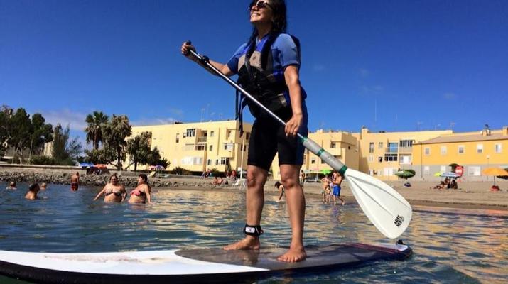 Stand up Paddle-Maspalomas, Gran Canaria-Paddle Surf and Snorkel excursion from Maspalomas, Gran Canaria-3