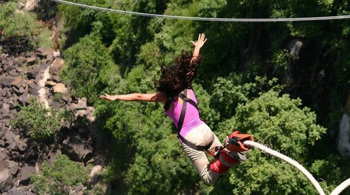 Saut à l'élastique-Victoria Falls-Bungee du pont des chutes Victoria-5