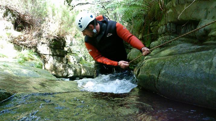 Canyoning-Cantabria-Canyoning at Yera Gorge in Vega de Pas, Cantabria-4