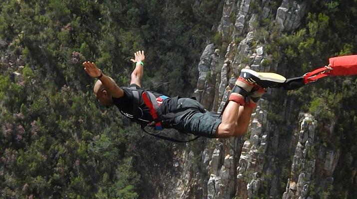 Bungee Jumping-Plettenberg Bay-World's highest bridge bungy, 216m from Bloukrans Bridge-6