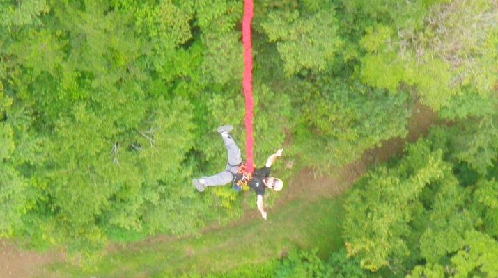 Bungee Jumping-Monteverde-Highest Bungee jumping in Costa Rica (143 metres) in Monteverde-5