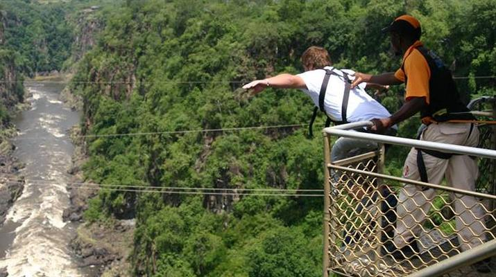 Saut à l'élastique-Victoria Falls-Bungee du pont des chutes Victoria-6