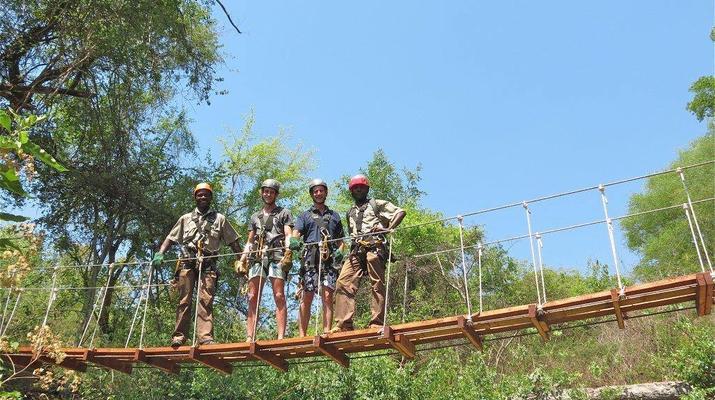 Accrobranche-Victoria Falls-Visite de la canopée à Victoria Falls-3