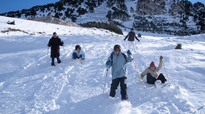 Raquette à Neige-Bielsa-Expédition 6 jours en Raquettes près de Bielsa à la frontière Espagnole-1