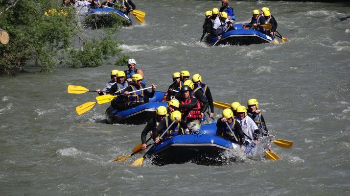 Rafting-La Plagne, Paradiski-Descente en rafting sur l'Isère à La Plagne-1