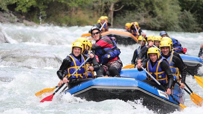 Rafting-La Plagne, Paradiski-Descente en rafting sur l'Isère à La Plagne-3