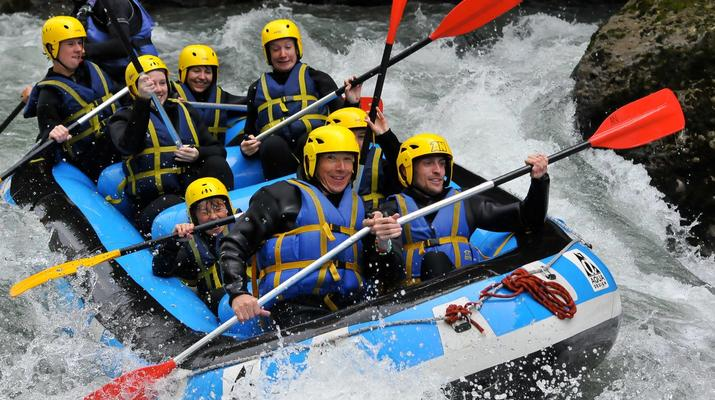 Rafting-La Plagne, Paradiski-Descente en rafting sur l'Isère à La Plagne-6