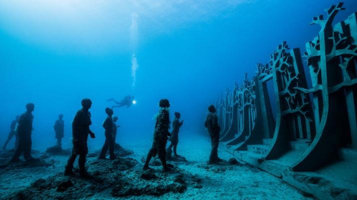 Scuba Diving-Puerto del Carmen, Lanzarote-First dive in the Underwater Museum of Lanzarote-5