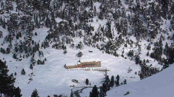 Raquette à Neige-Cauterets-Randonnée en Raquettes près du lac de Gaube-2