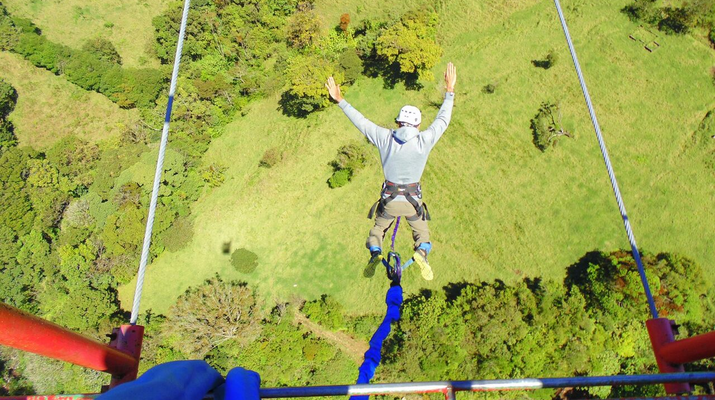 Bungee Jumping-Monteverde-Highest Bungee jumping in Costa Rica (143 metres) in Monteverde-2
