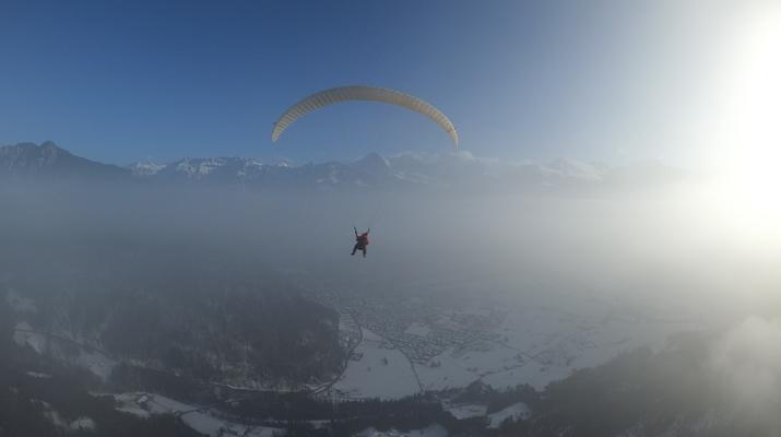 Paragliding-Interlaken-Tandem paragliding flight above Interlaken-6