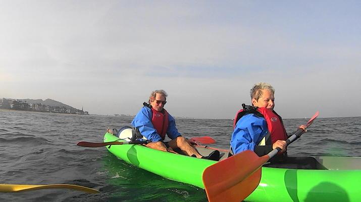 Kayak de mer-Deauville - Trouville-Randonnées Kayak de Mer le long des falaises de Deauville-Trouville-3