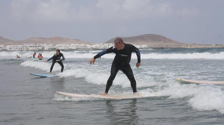 Surfing-Caleta de Famara, Lanzarote-Surf lessons in Caleta de Famara, Lanzarote-15