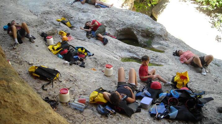Canyoning-Sierra de Guara-Canyoning au Parc Naturel de la Sierra de Guara-5