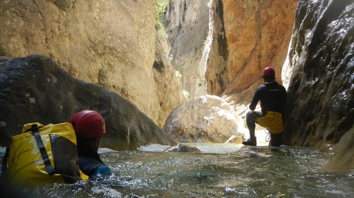 Canyoning-Sierra de Guara-Canyoning au Parc Naturel de la Sierra de Guara-8