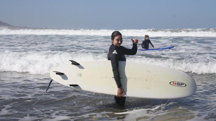 Surfing-Caleta de Famara, Lanzarote-Surf lessons in Caleta de Famara, Lanzarote-14
