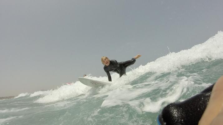 Surfing-Caleta de Famara, Lanzarote-Surf lessons in Caleta de Famara, Lanzarote-11