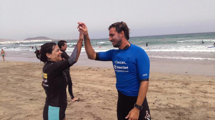 Surfing-Caleta de Famara, Lanzarote-Surf lessons in Caleta de Famara, Lanzarote-9