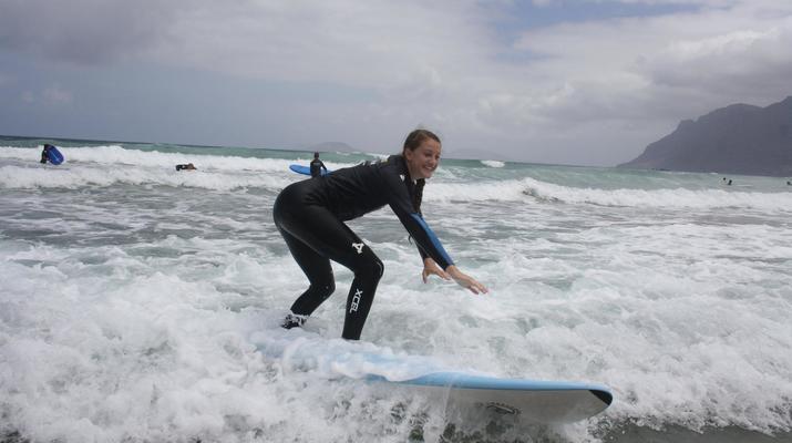 Surfing-Caleta de Famara, Lanzarote-Surf lessons in Caleta de Famara, Lanzarote-3