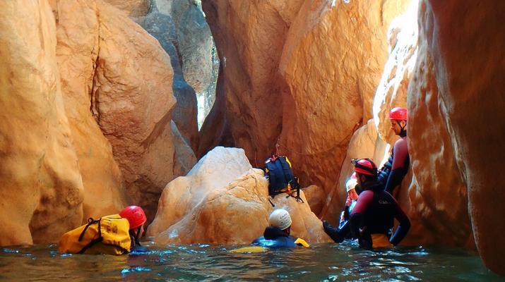 Canyoning-Sierra de Guara-Canyoning au Parc Naturel de la Sierra de Guara-1