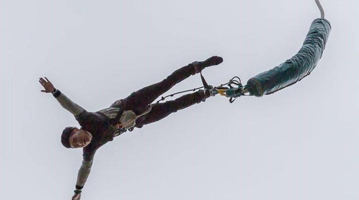 Saut à l'élastique-Lloret del Mar-Le plus haut saut à l'élastique d'Espagne (70 m), près de Barcelone-2