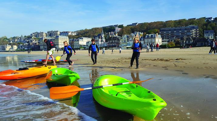 Kayak de mer-Deauville - Trouville-Cours de Kayak de Mer à Trouville-6