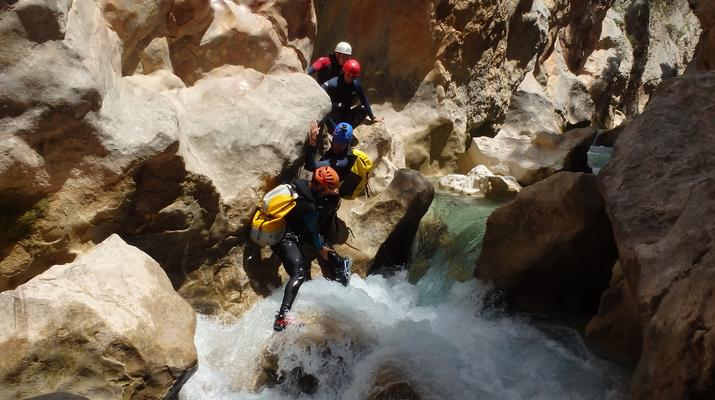 Canyoning-Sierra de Guara-Canyoning au Parc Naturel de la Sierra de Guara-6