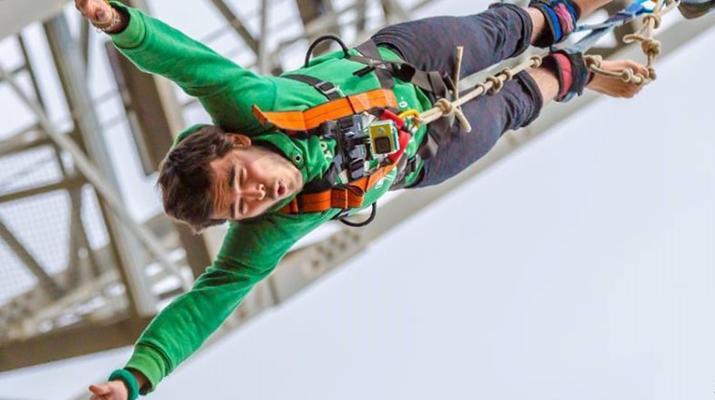 Saut à l'élastique-Lloret del Mar-Le plus haut saut à l'élastique d'Espagne (70 m), près de Barcelone-1