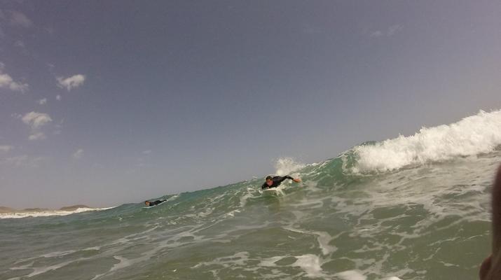 Surfing-Caleta de Famara, Lanzarote-Surf lessons in Caleta de Famara, Lanzarote-10