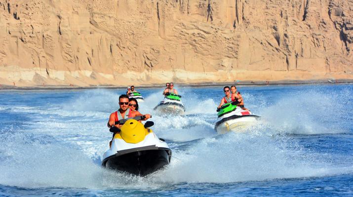 Jet Skiing-Santorini-Jet Ski Rentals from Perivolos Beach, Santorini-1