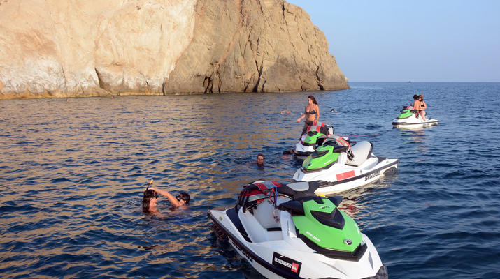 Jet Skiing-Santorini-Jet Ski Safari from Perivolos, Santorini-3