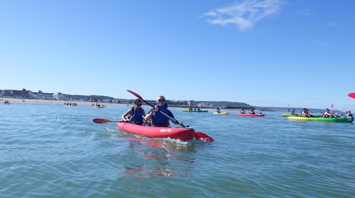 Kayak de mer-Deauville - Trouville-Cours de Kayak de Mer à Trouville-2
