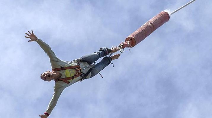Saut à l'élastique-Lloret del Mar-Le plus haut saut à l'élastique d'Espagne (70 m), près de Barcelone-6