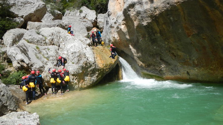 Canyoning-Sierra de Guara-Canyoning au Parc Naturel de la Sierra de Guara-4