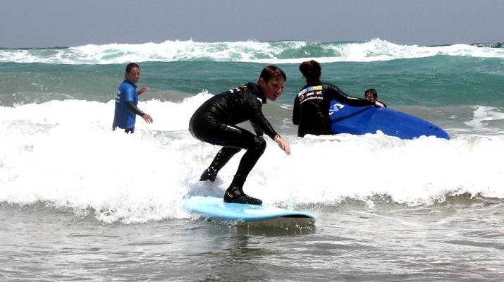 Surfing-Caleta de Famara, Lanzarote-Surf lessons in Caleta de Famara, Lanzarote-1