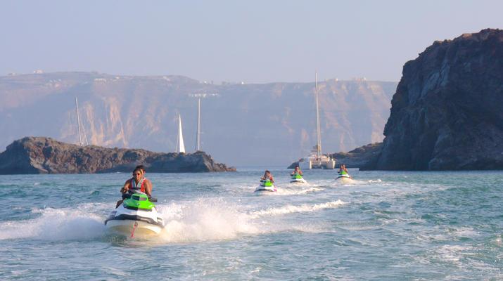 Jet Skiing-Santorini-Jet Ski Rentals from Perivolos Beach, Santorini-2
